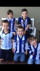 It made these little footballers happy!!